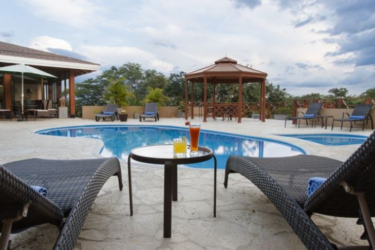 Relax at Rancho Humo's Beautiful Pool